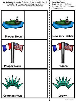 Statue of Liberty Task Boxes