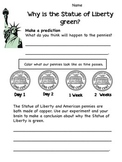 Statue of Liberty: Why is it green?