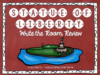 Statue of Liberty Write the Room Trivia Review