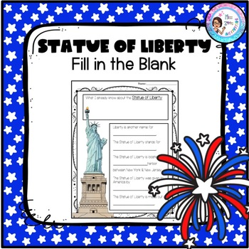 Statue of Liberty fill-in-the-blank