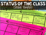 Status of the Class Editable Template