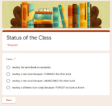 Status of the Class - Google Form
