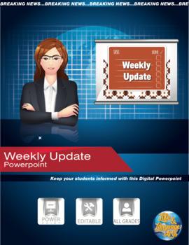 Status of the Week- SMART Notebook File