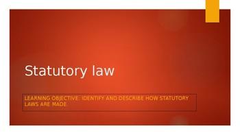 Statutory law in Australia