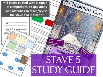 Stave 5 Comprehension Guide A Christmas Carol