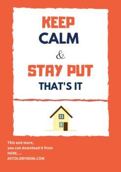{FREEBIE} Stay Calm Poster