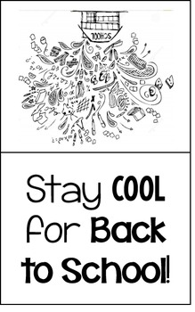 Stay Cool for Back to School! {Back to School/First Day Welcome Gift}