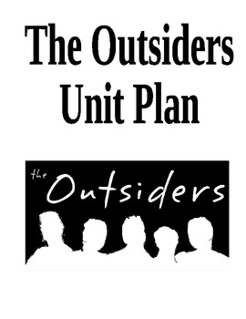 """Stay Gold"" - The Outsiders Novel Unit"