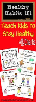 Stay Healthy Printables