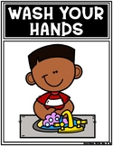 Stay Healthy Wash Your Hands Posters