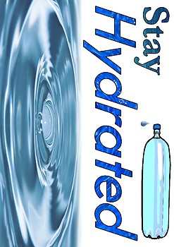Stay Hydrated Speech Pathology Voice Care Poster