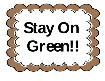 Stay On Green