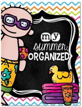 Stay Organized! Summer {FREE} calendar and checklists!