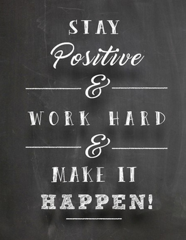 Stay Positive Poster Pdf