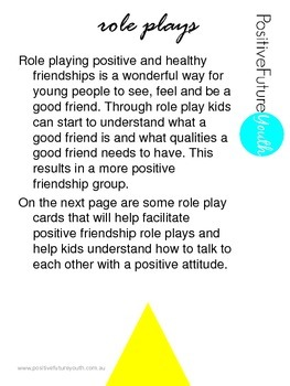 Stay Positive Role Plays