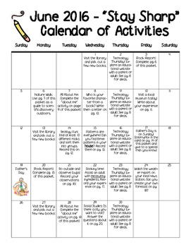 Stay Sharp! Summer Print-n'-Go Activities to Keep Educational Momentum Going