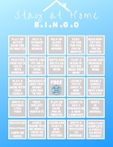 Stay at Home Bingo - Ideas for Homeschooling Activities an