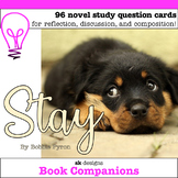 Stay by Bobbie Pyron Discussion Question Cards for Classro