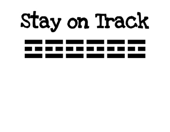 Stay on Track Classroom Management