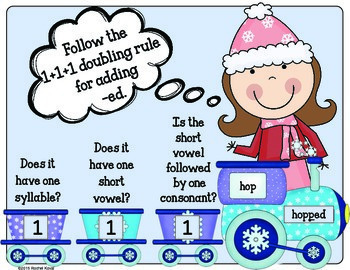 Stay on the Track! (adding -ed endings to short vowel words)