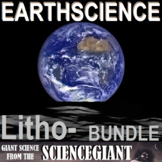StayGiant Earth Science Bundle: The Lithosphere (rocks and