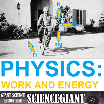 StayGiant Physics Bundle: Work and Energy