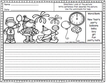 Staying Busy in January - {literacy&math printables}