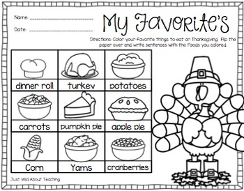 Staying Busy in November - {literacy&math printables}