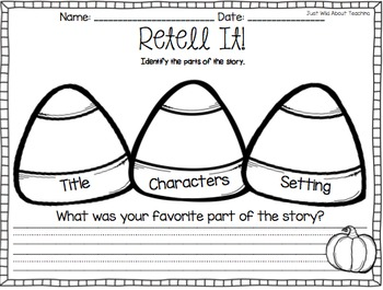 Staying Busy in October - {literacy&math printables}