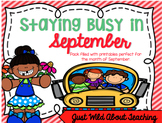 Staying Busy in September - {literacy&math printables}