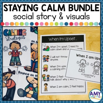 Staying Calm - A Social Skills Bundle for Young Learners