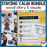 Staying Calm A Social Skills Bundle for Young Learners
