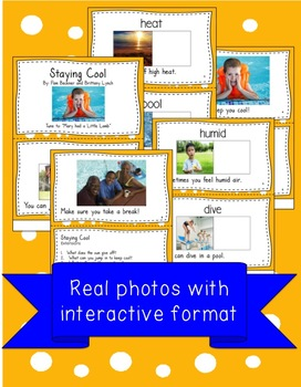 Staying Cool Interactive Book and Song