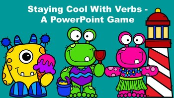 Staying Cool With Verbs - A PowerPoint Game