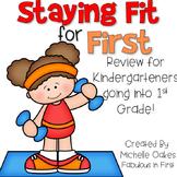 Summer Review:  Kindergarten