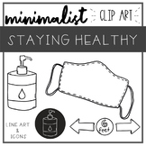 Staying Healthy - COVID-19 Clip Art - FREE