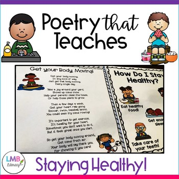 Staying Healthy, Healthy Habits-Poetry That Teaches