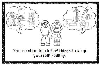 Staying Healthy Mini Book