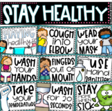 Staying Healthy and Safe Social Distancing Classroom Rules