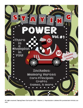 Staying Power Curriculum Unit 1