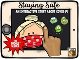 Staying Safe:  An Interactive Story about COVID-19 (for Go