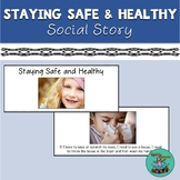 Staying Safe & Healthy: A Social Story (Free!) Coronavirus, Washing hands, Clean