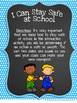 Staying Safe at School, Guidance Lesson for Grades 2-3
