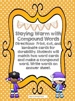 Staying Warm with Compound Words
