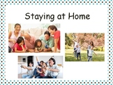Staying at Home Social Script