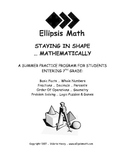 Staying in Shape Summer Math Workbook