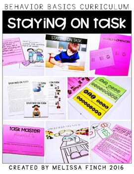 Staying on Task- Behavior Basics Program for Special Education