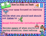 Staying on Task Poster