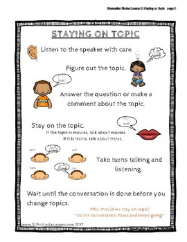 Staying on Topic - Discussion Circles
