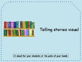 Staying on topic/retelling stories visual